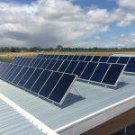 Bordertown Solvis Hydronic Solar Panel Installation