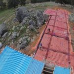 Complete hydronic underfloor heating installation at Bugle Ranges