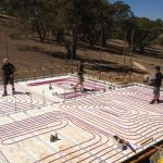 Hydronic heating at Mount Barker