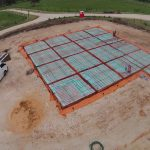 Complete Hydronic underfloor heating with slab insulation
